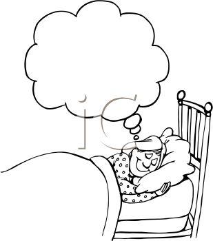 Dreaming clipart drawing. At getdrawings com free