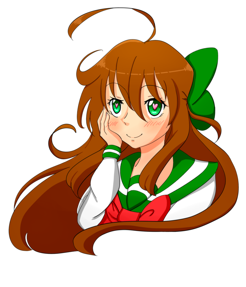 Dreaming clipart drawing. Random anime girl about