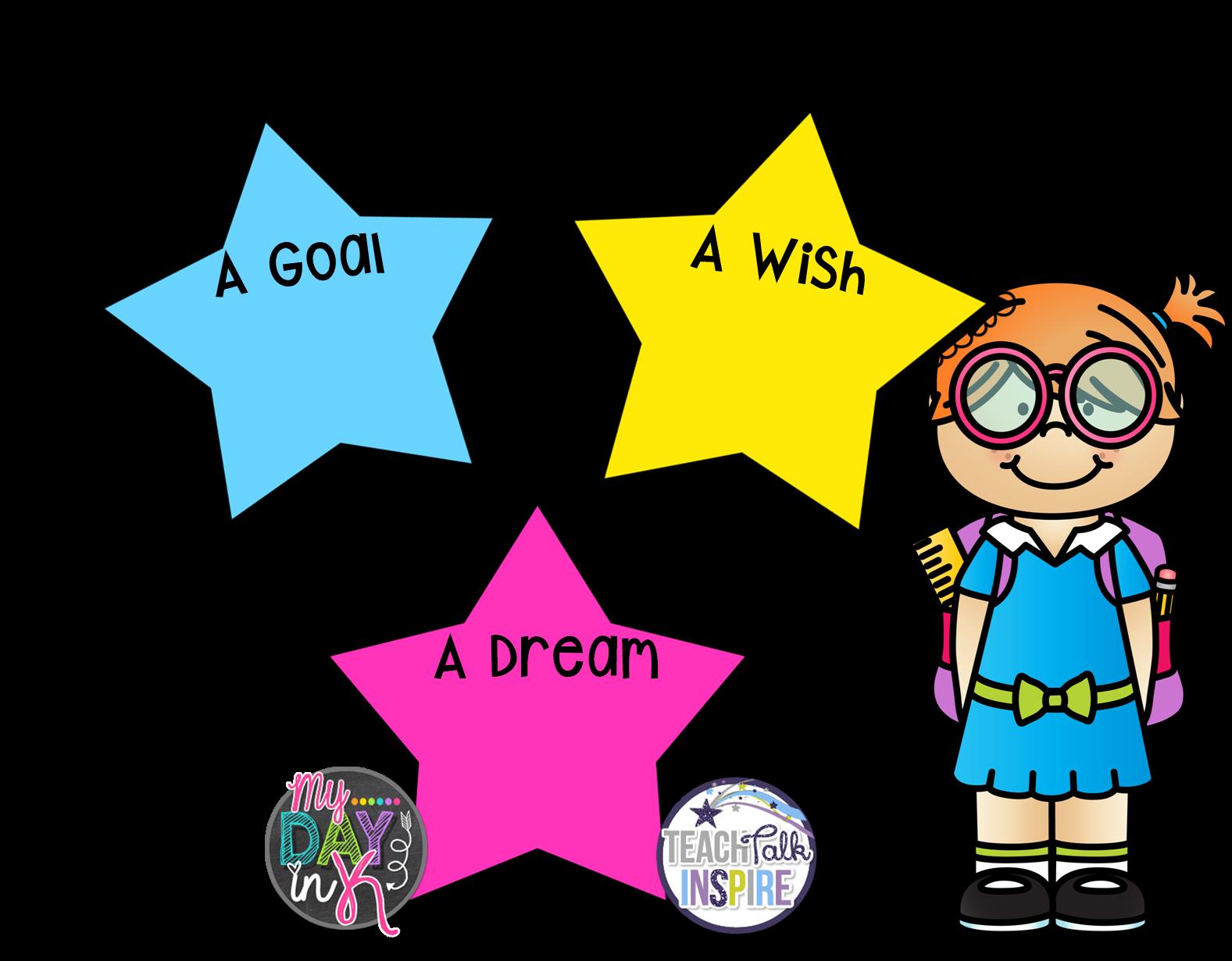 August always kindergarten what. Dreaming clipart school goal