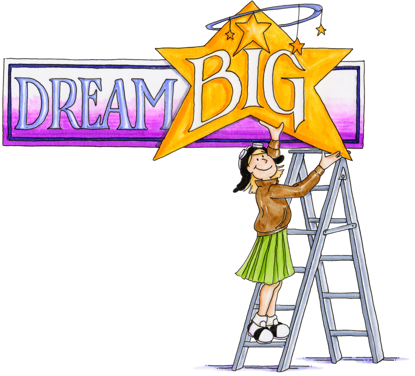 Dreaming clipart school goal. Free achieve cliparts download
