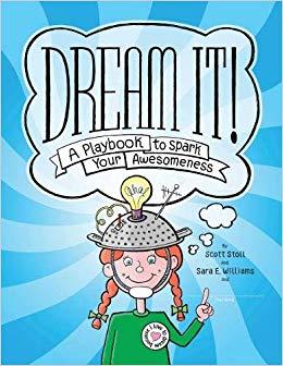 Dream it a playbook. Dreaming clipart school goal