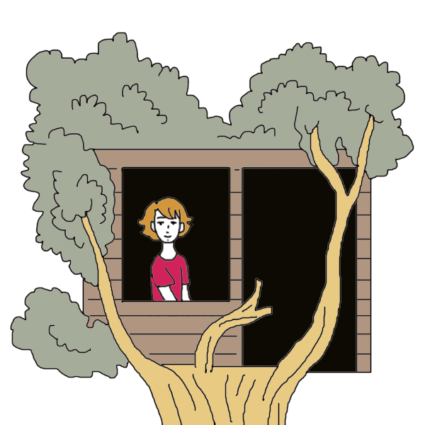 Tree house dream dictionary. Dreaming clipart school goal