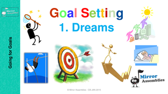 Going for goals dreams. Dreaming clipart school goal