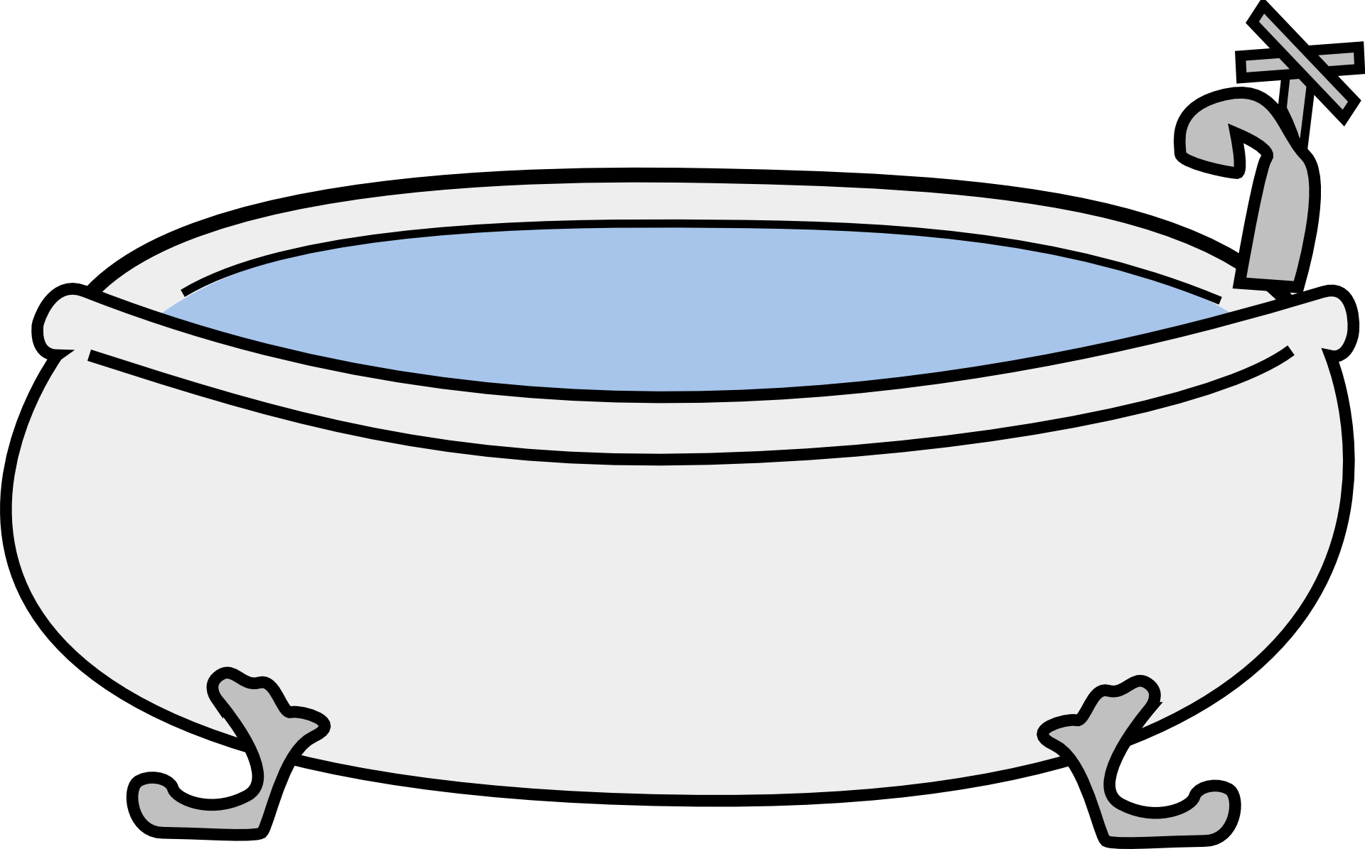 Dreaming clipart transparent. Bathtub hot tub clip
