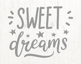 Sweet dream etsy svg. Dreams clipart