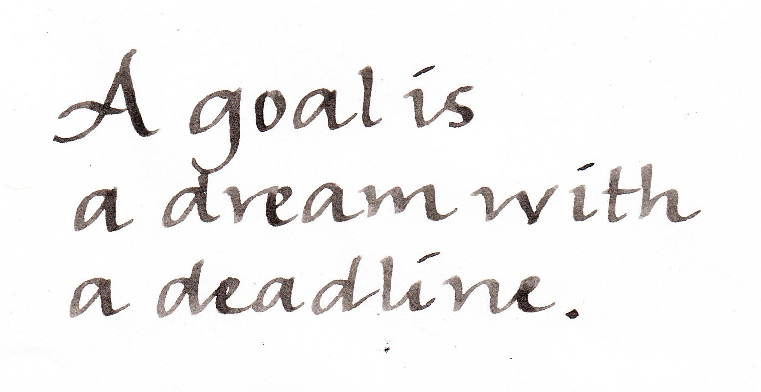 To goals . Dreams clipart dream goal