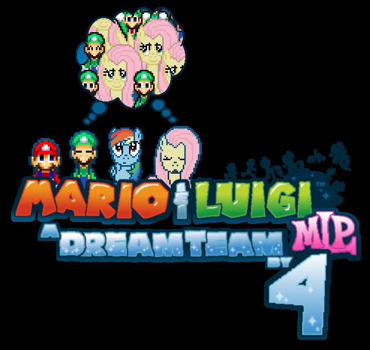 Mario and luigi mlp. Dreams clipart dream team