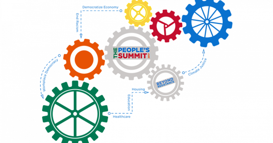 The people s summit. Dreams clipart racial inequality