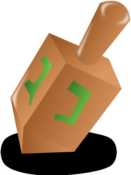 Hanukkah clip art at. Dreidel clipart