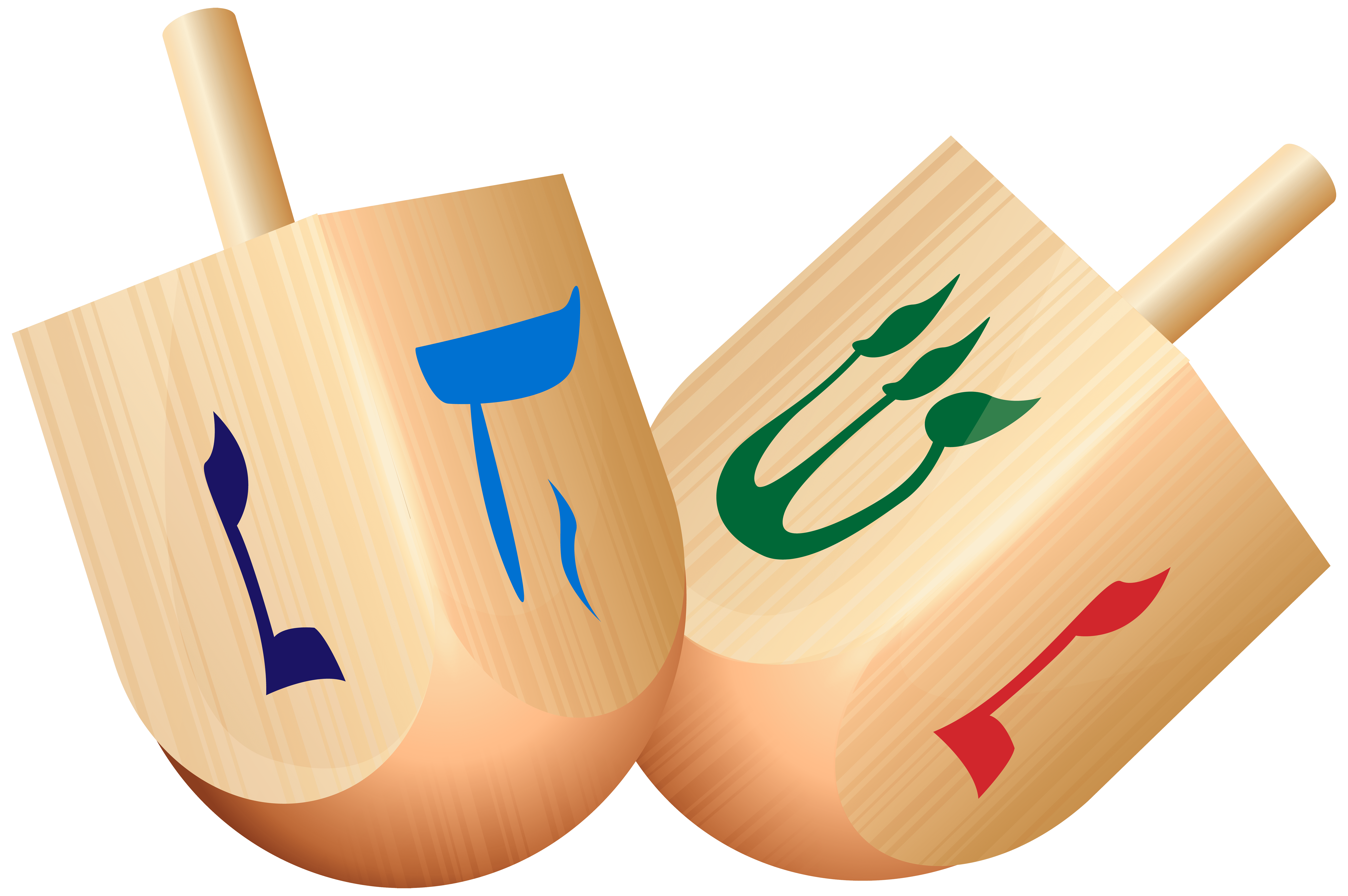 Wooden png free images. Dreidel clipart blank