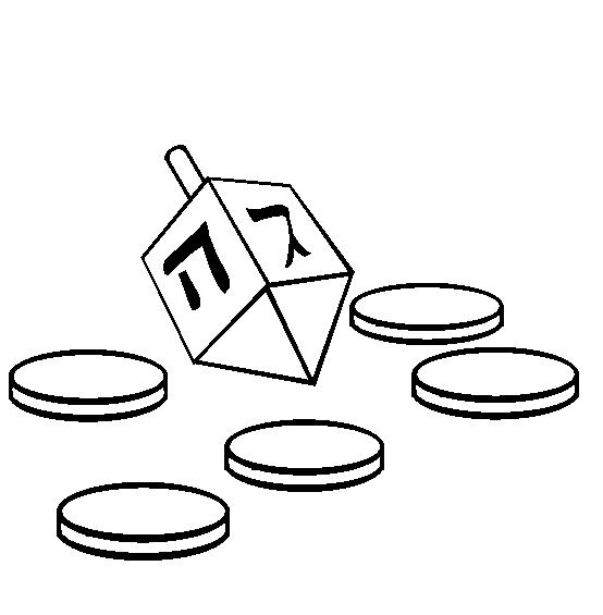 Free pictures download clip. Dreidel clipart blank