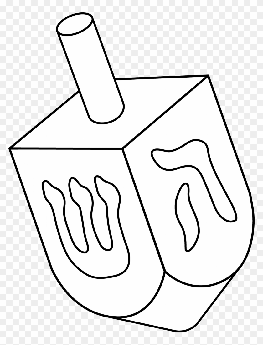 Png coloring pages of. Dreidel clipart toy