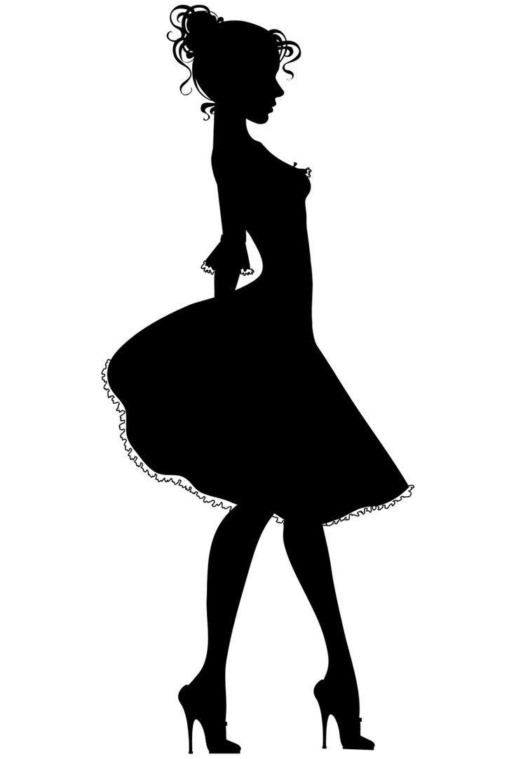 Clip art women s. Dress clipart