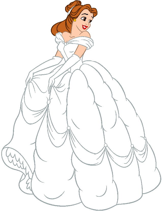 Dress clipart animated. Wedding belle free collection