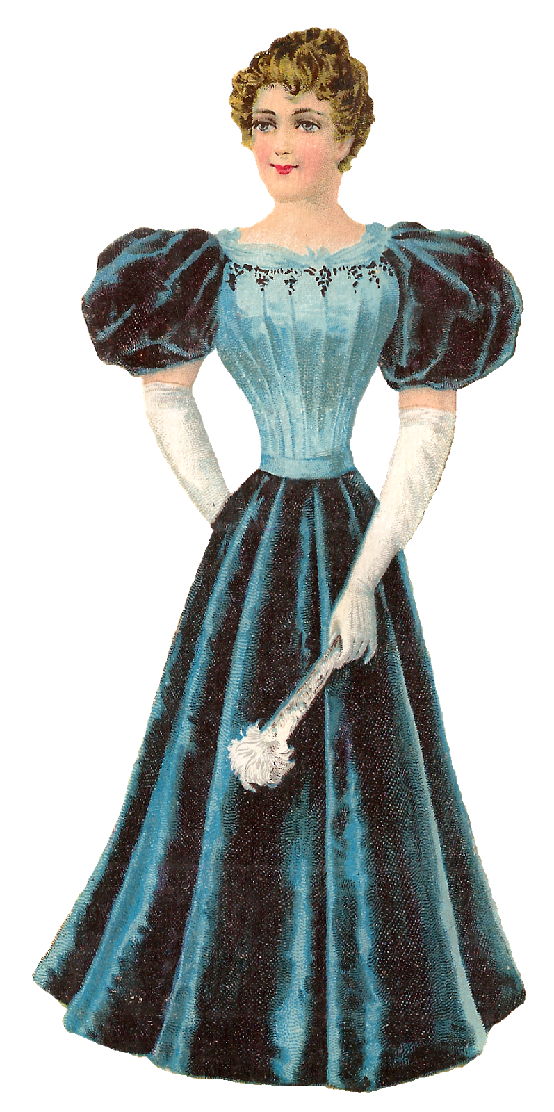 Dress clipart ball gown. Antique images victorian women