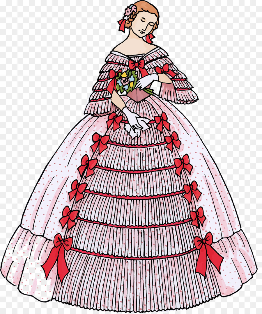 Dress clipart ball gown. Wedding drawing clothing fashion