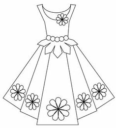 Free cliparts download clip. Dress clipart black and white