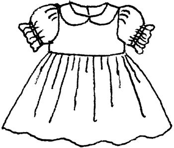 Dress clipart black and white. Station