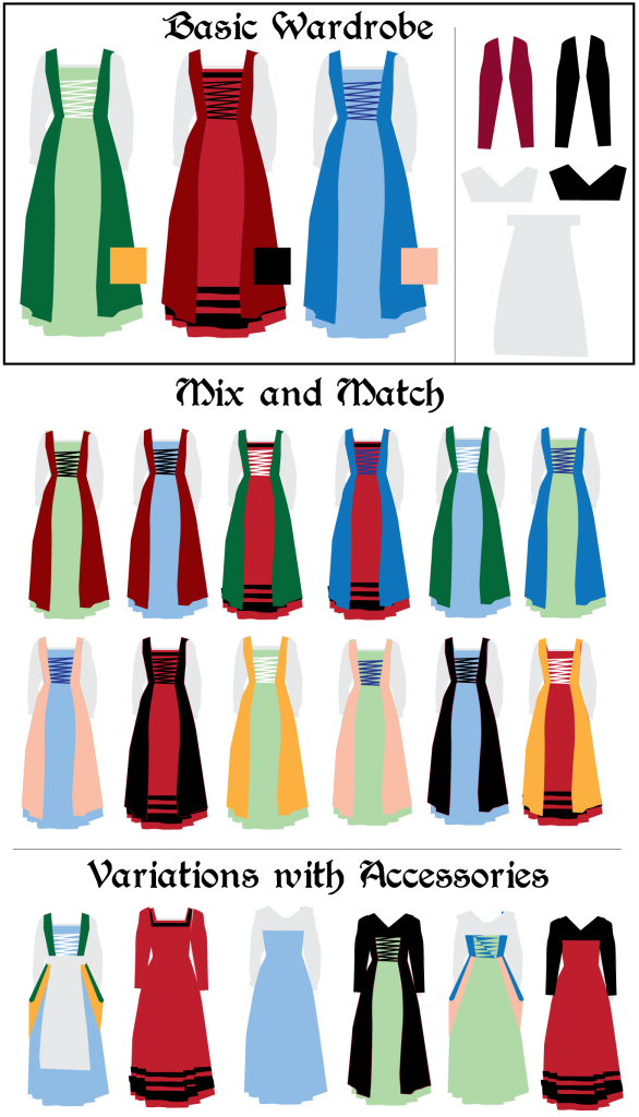 Dress clipart chemise. Blog post putting together