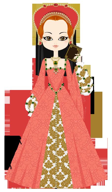 Elizabeth tudor by marasop. Speakers clipart lady