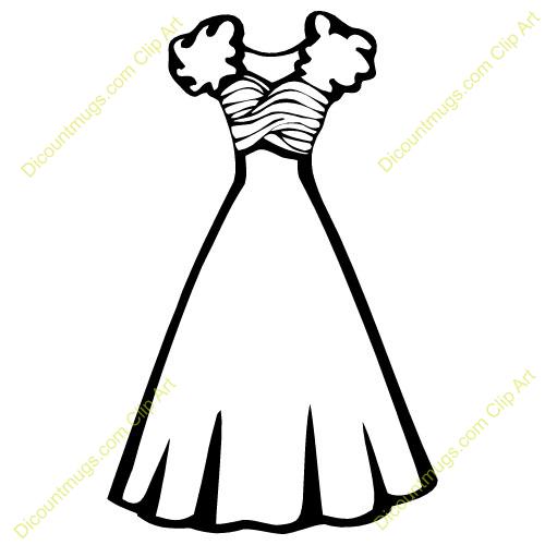Dresses panda free images. Dress clipart clip art
