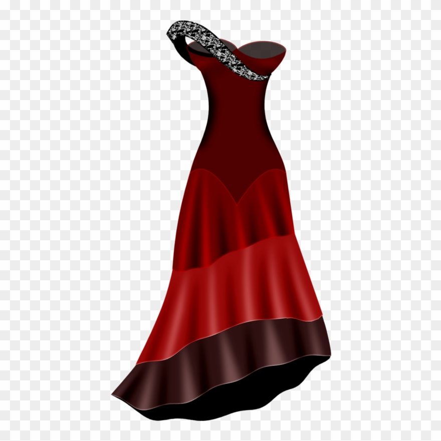 Dress clipart cocktail dress. Woman clothing pinclipart