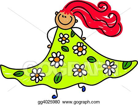 Dress clipart floral dress. Drawing my gg gograph