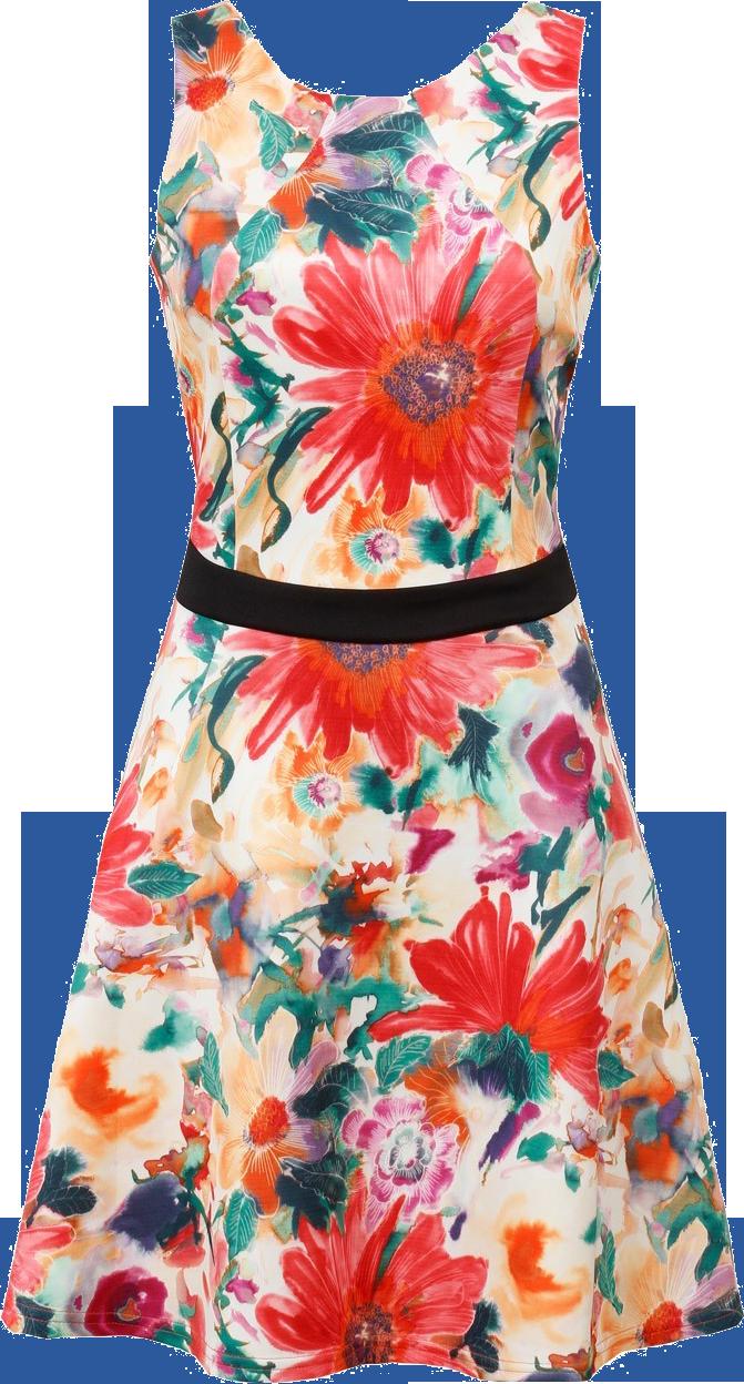 Dress clipart floral dress. Png photos mart