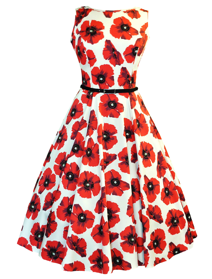 dress clipart floral dress