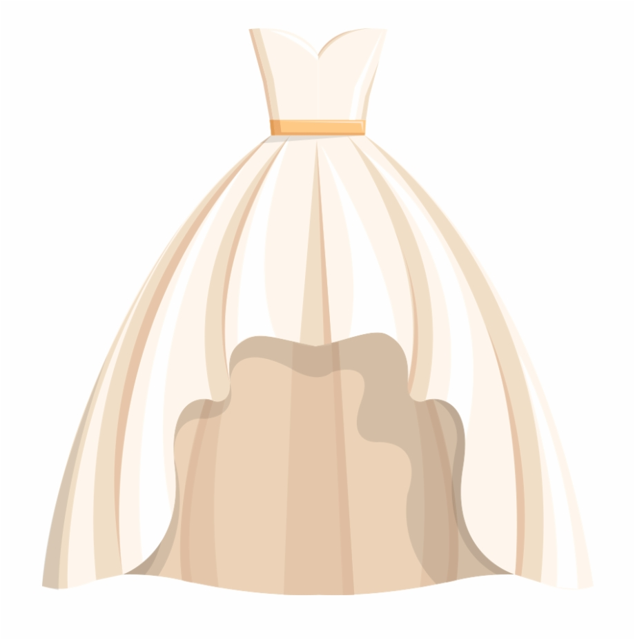 Dress clipart gown. Wedding free png hq