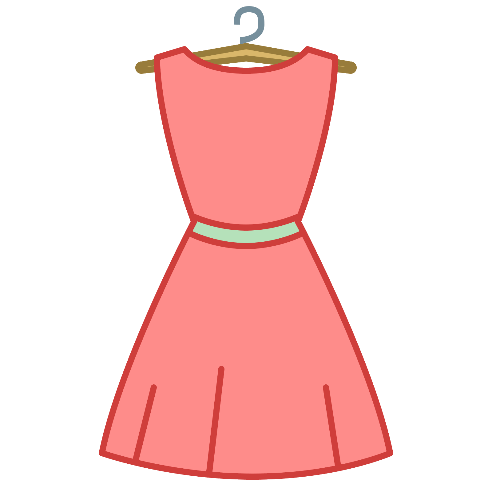 Computer icons clothing transprent. Dress clipart icon