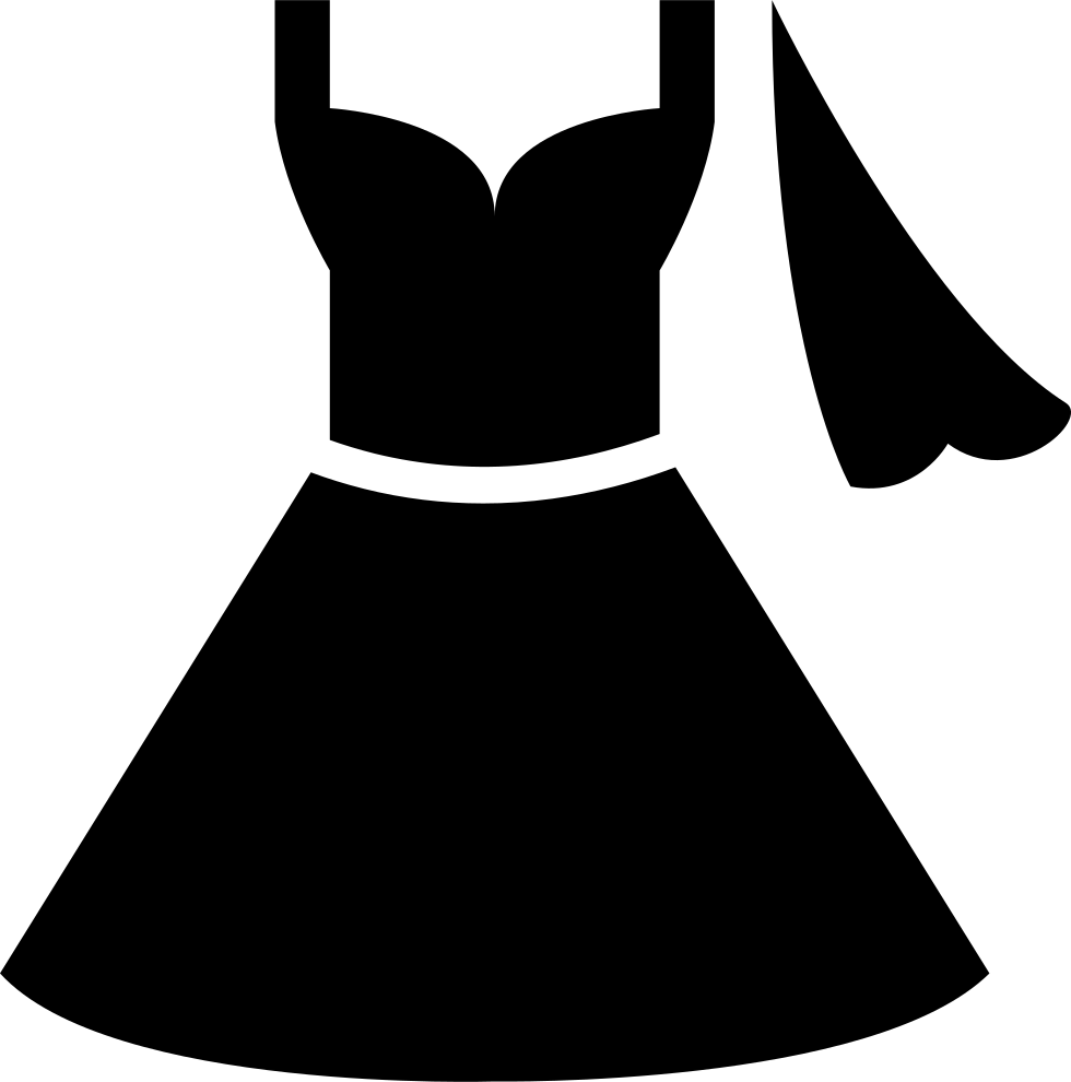 Dress clipart icon. Wedding svg png free