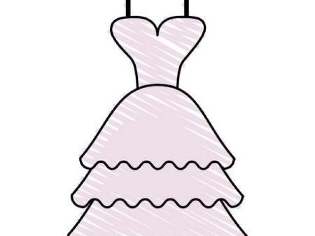 Dress clipart silk dress. Wedding x free clip
