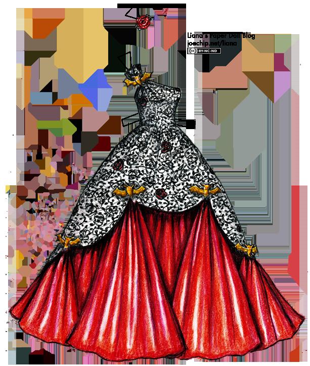 Ball gowns drawing at. Dress clipart silk dress