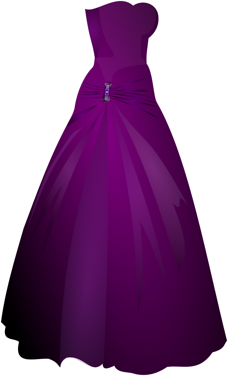 Public domain clip art. Dress clipart strapless dress
