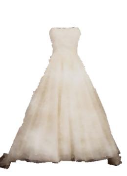 Dress clipart strapless dress. Clip art