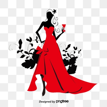 Red png psd and. Dress clipart vector