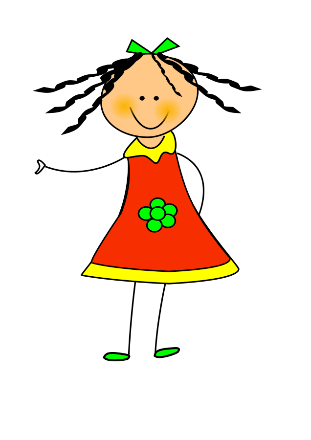 Kokeshi doll svg file. Lady clipart vector