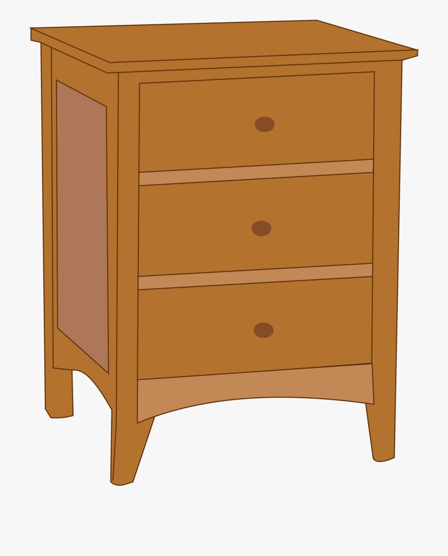 Furniture clipart dresser. End table clip art