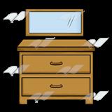 Abeka clip art with. Dresser clipart