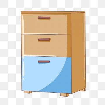 Drawer png vector psd. Dresser clipart blue yellow
