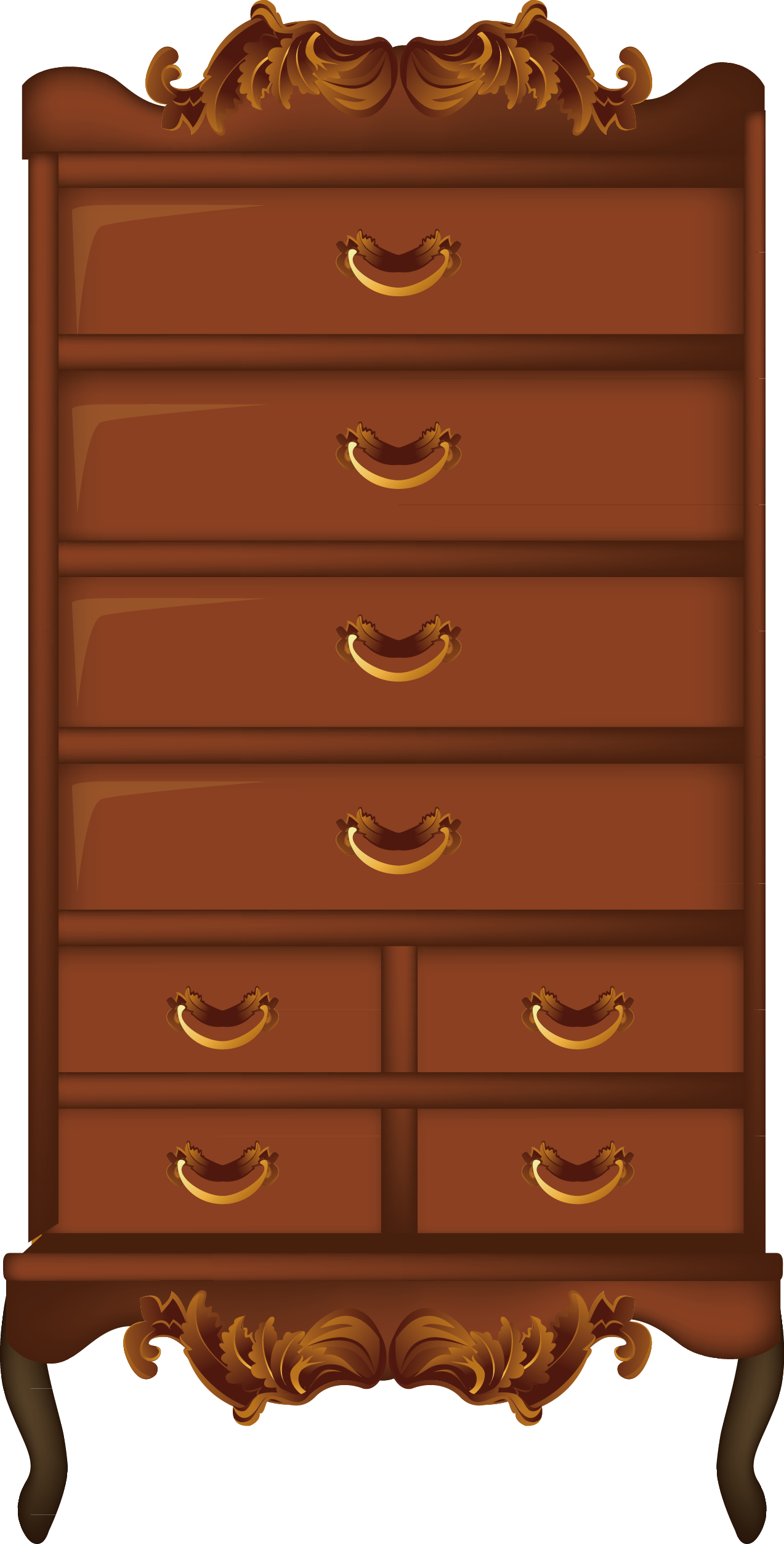 Of drawers chiffonier clip. Furniture clipart chest drawer
