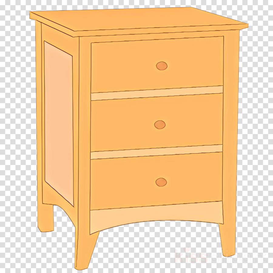 Furniture clipart dresser. Drawer chest of drawers