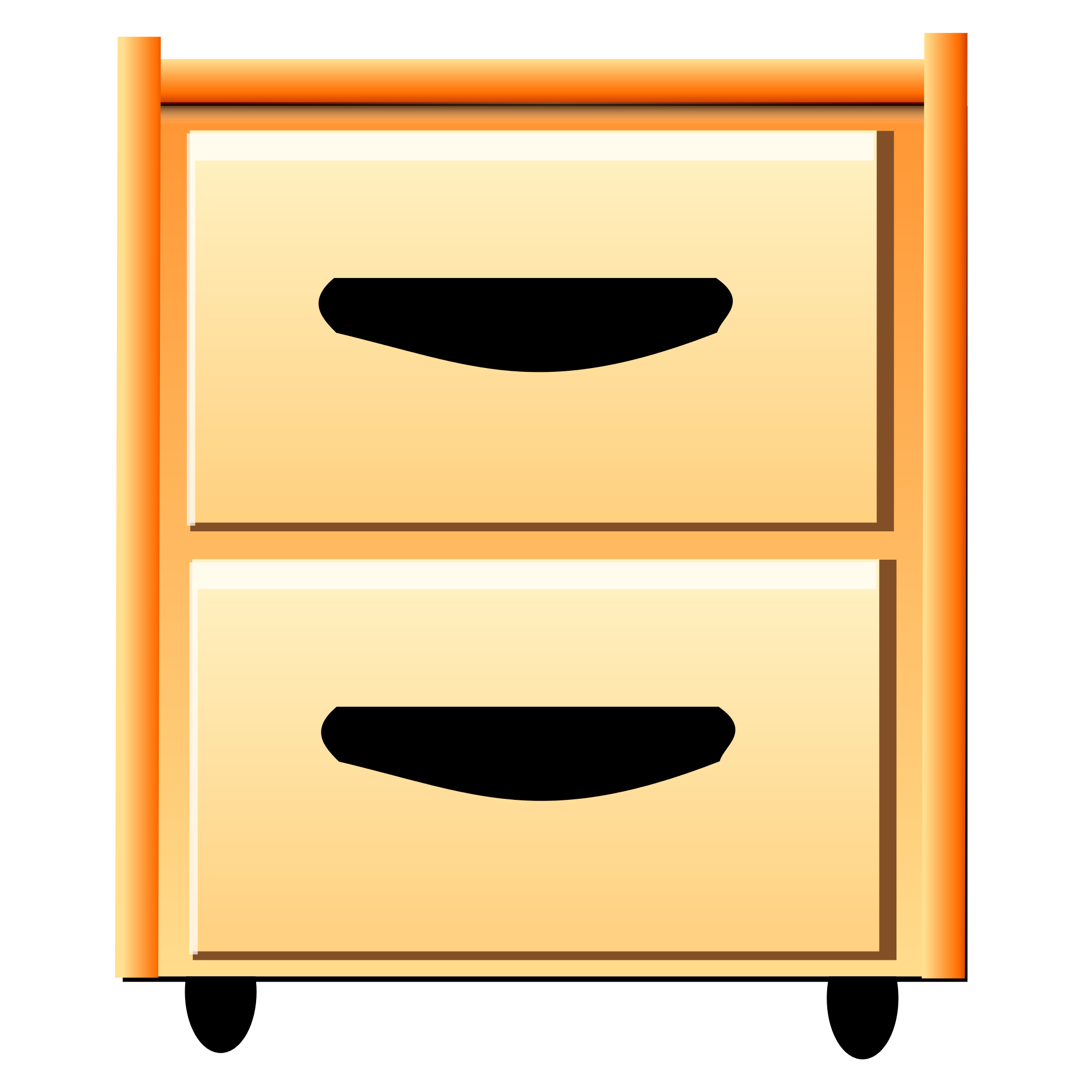 Furniture clipart chest drawer. File nuvola filing cabinet