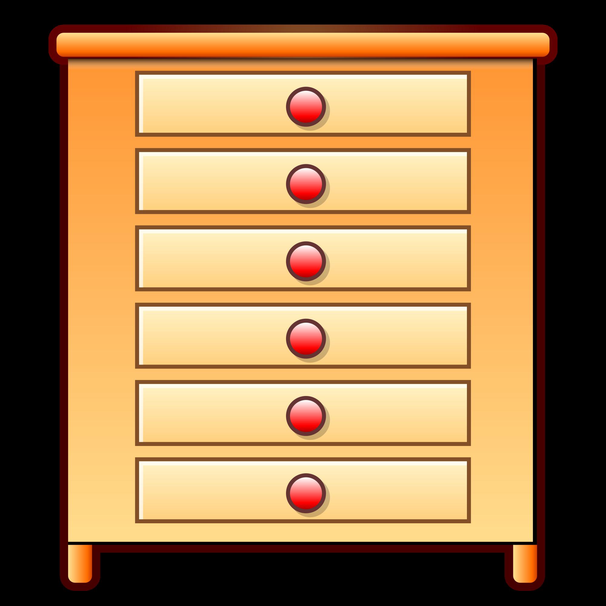 Furniture clipart dresser. File svg wikimedia commons