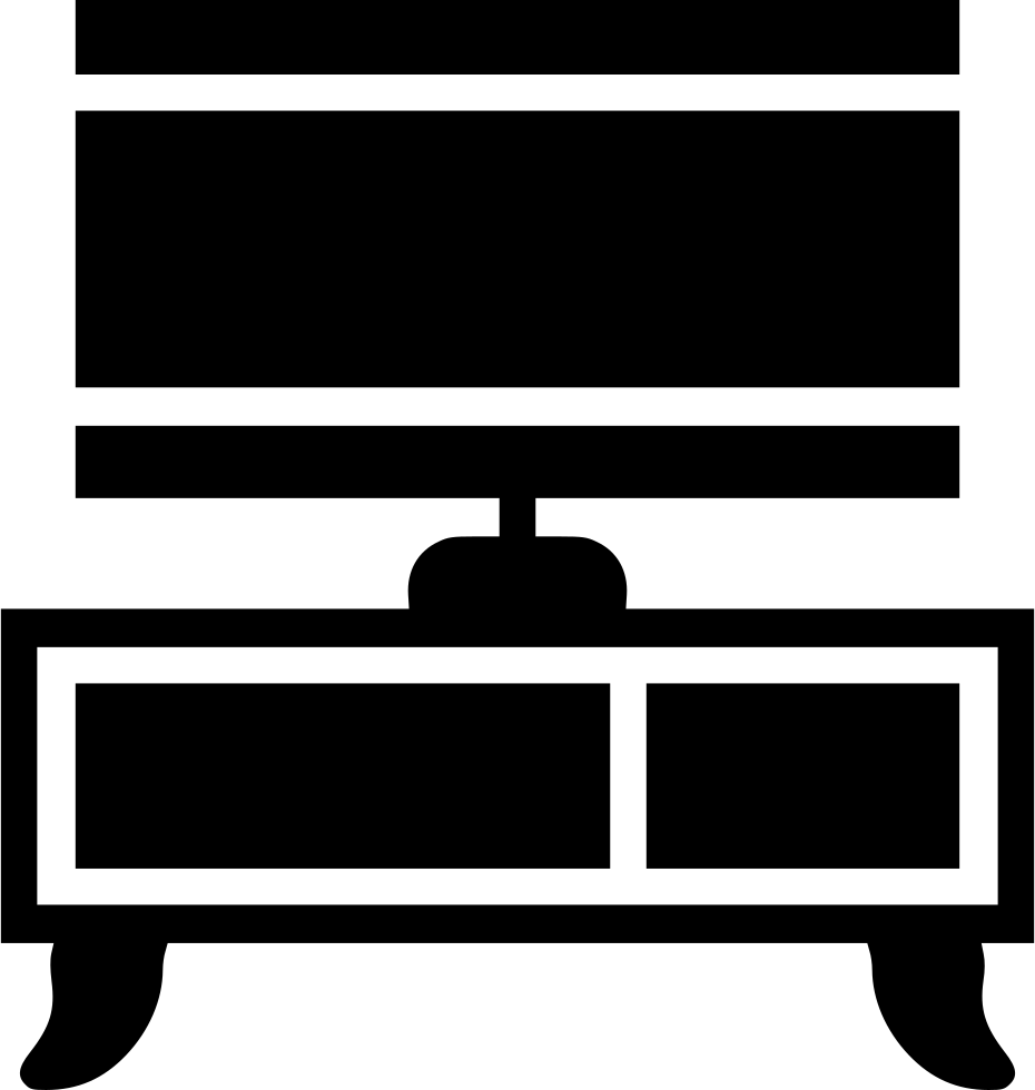 Svg png icon free. Dresser clipart tv stand