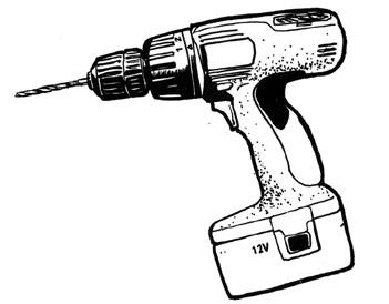 Drills clip art panda. Drill clipart