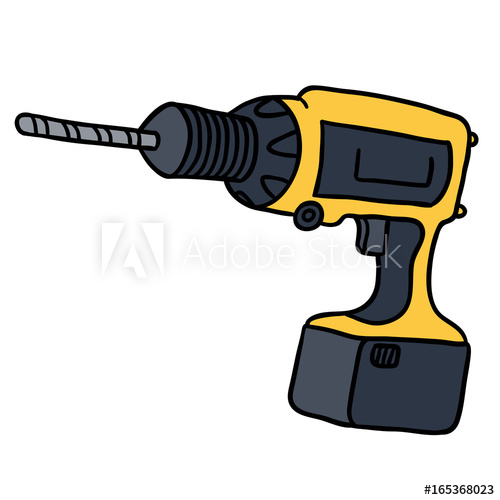 Buy this stock illustration. Drill clipart