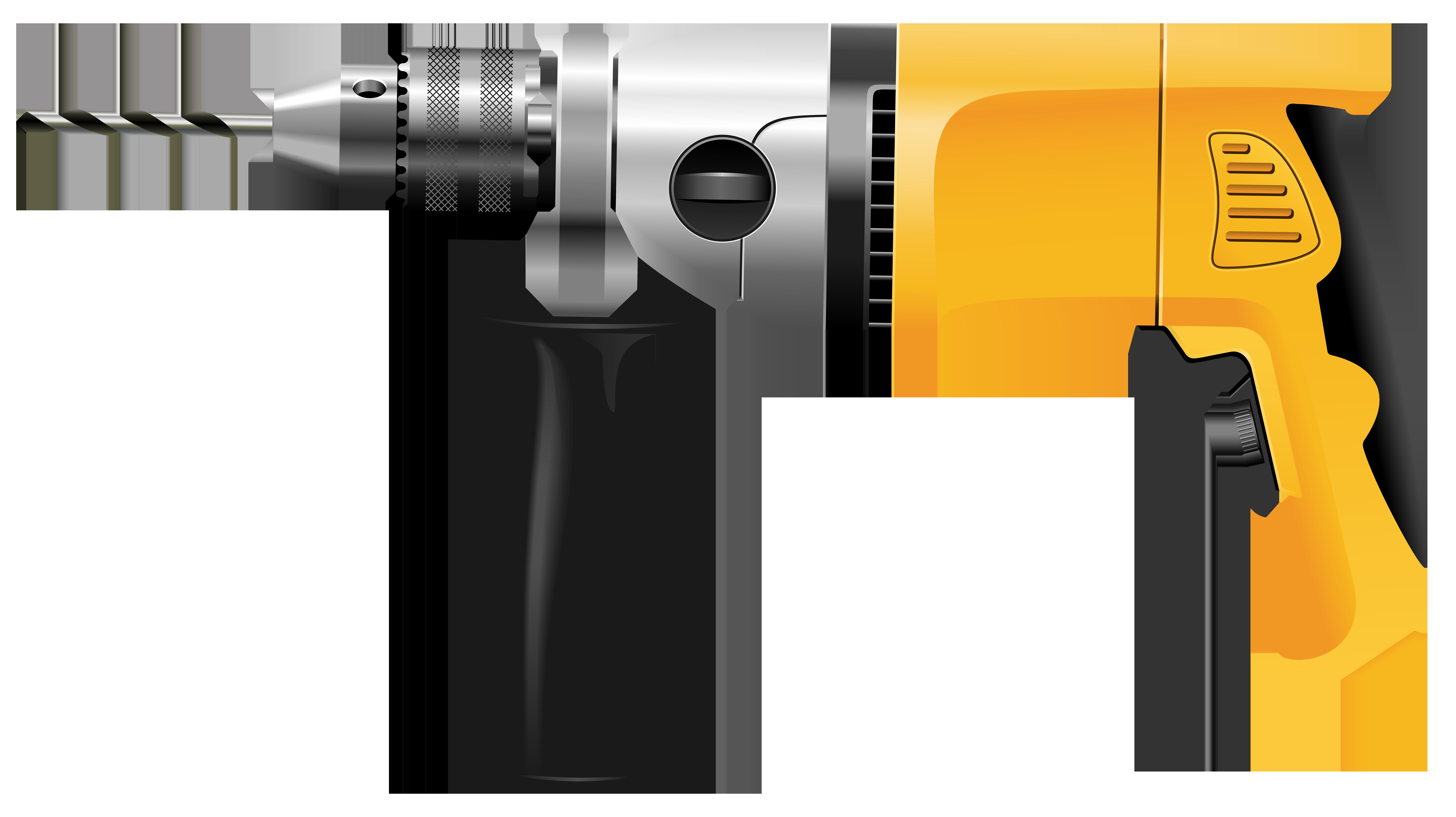 Clipart hammer metal. Drill png clip art