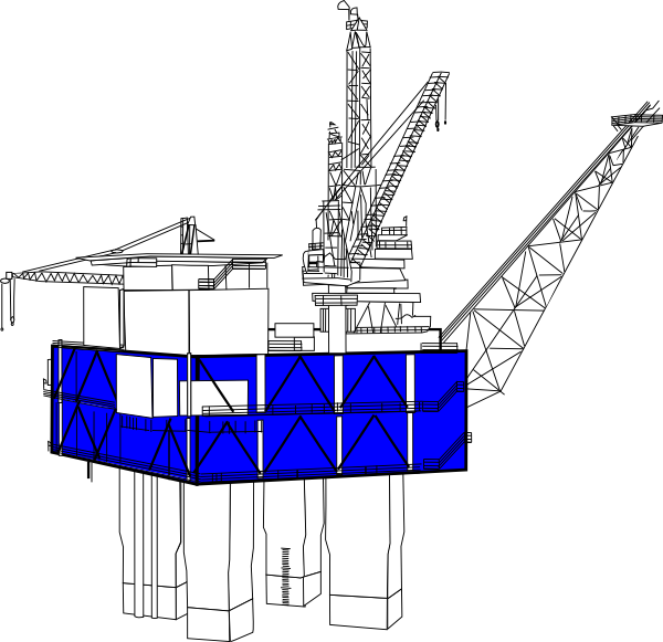 Offshore rig clip art. Oil clipart oil extraction